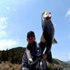 春の神奈川県芦ノ湖でオーバーリアル63WAKEとアイウェーバー74SSSを駆使し50UP3本キャッチされました!!