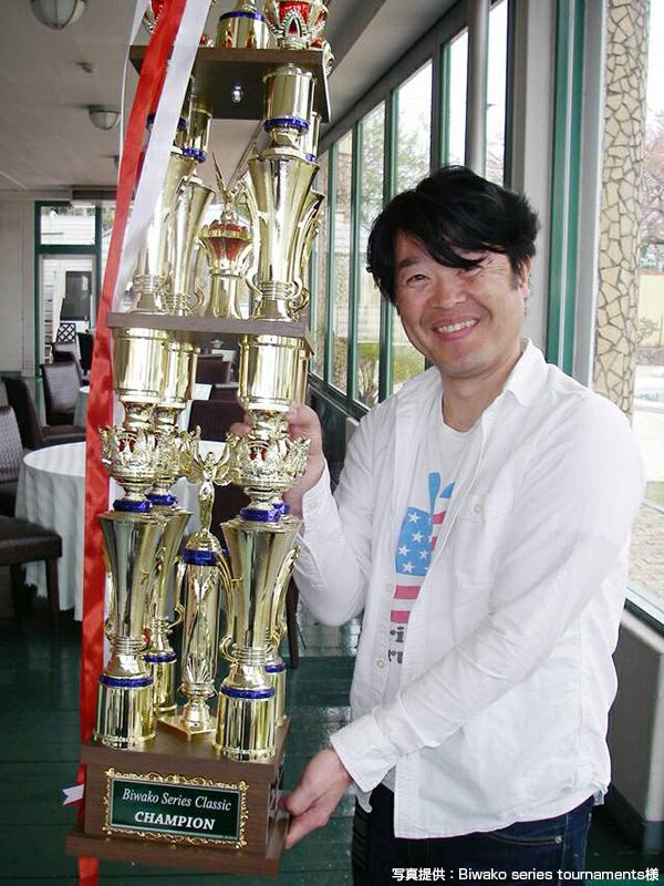 Biwako Series Classicにて、タイフーンで3本 6,104gの佐々木様が優勝!!