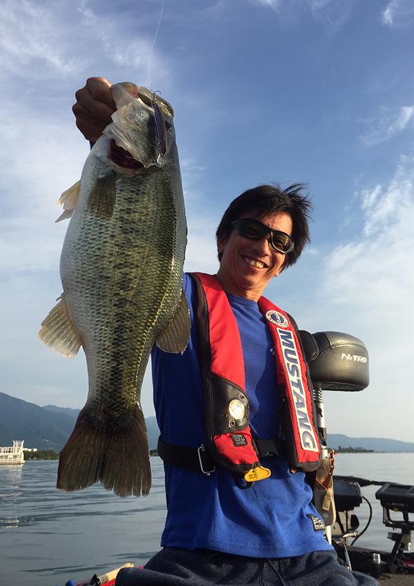 琵琶湖オープン第4戦にてドライブスティックがウイニングルアーになりました!!