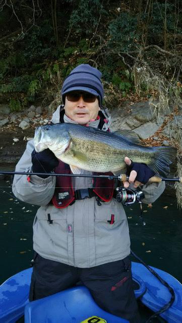 神奈川県相模湖にて、JIG05タッガーでビッグフィッシュがキャッチされました!