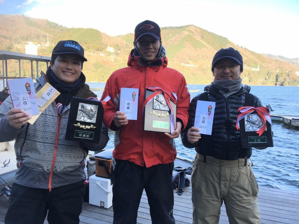 相模湖のトーナメントでオーバーライドが活躍し、年間優勝を獲得!!