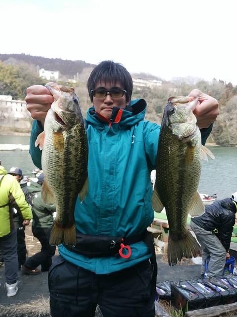 神奈川県相模湖で開催された日相カップ第1戦にて、O.S.Pルアーがウイニングルアーとなりました!