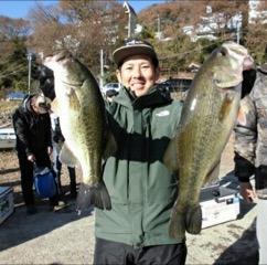 津久井湖オープントーナメント第2戦にてドライブシュリンプがウイニングルアーになりました!