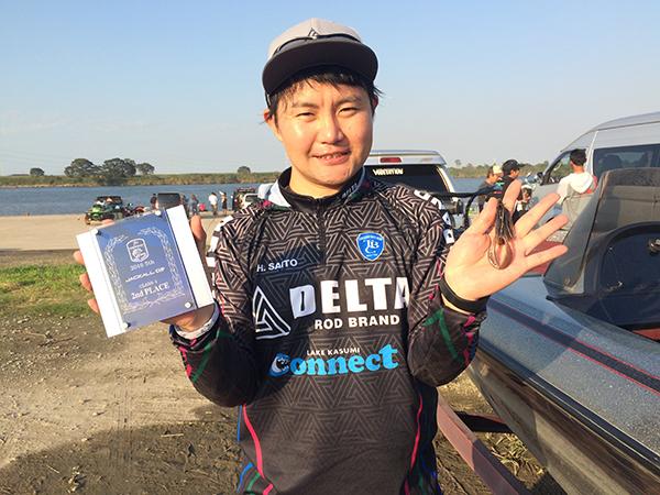TBCトーナメント第5戦にて準優勝した斉藤プロの使用ルアーがジグ01でした!!