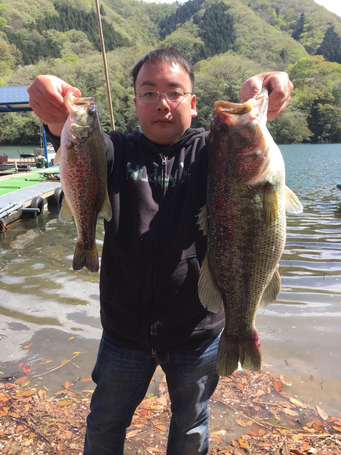 相模湖にてジグ03ハンツ+ドライブビーバー3.5″でビッグフィッシュがキャッチされました!!