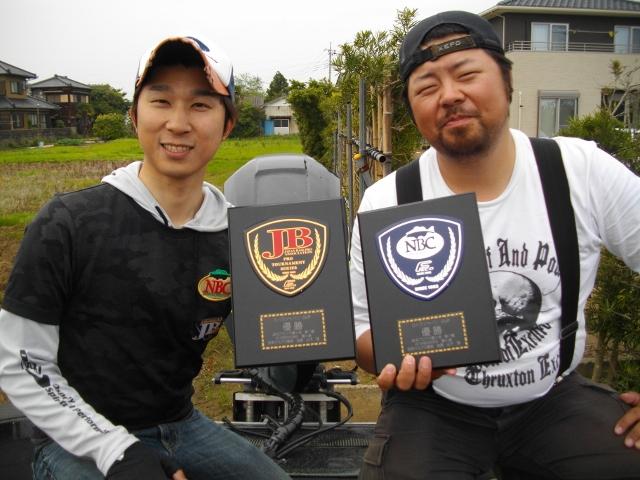 JBII霞ヶ浦第1戦優勝した守選手のウイニングルアーが、ドライブスティック&ドライブクローラーでした!!