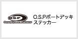 O.S.Pボートデッキステッカー