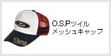 O.S.Pツイルメッシュキャップ