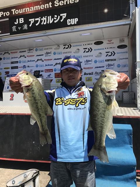 JB霞ヶ浦第2戦にて準優勝した忽那選手の使用ルアーがドライブスティック3.5″でした!
