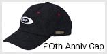 20周年Anniversaryキャップ