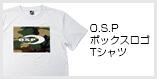 O.S.PボックスロゴTシャツ