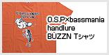 O.S.P×bassmania handlure BUZZN Tシャツ