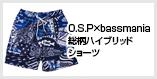 O.S.P×bassmania 総柄ハイブリッドショーツ